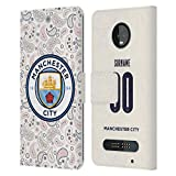 Head Case Designs Manchester City Man City FC Coutume Personnalisé Third 2020/21 Badge Kit Coque en...