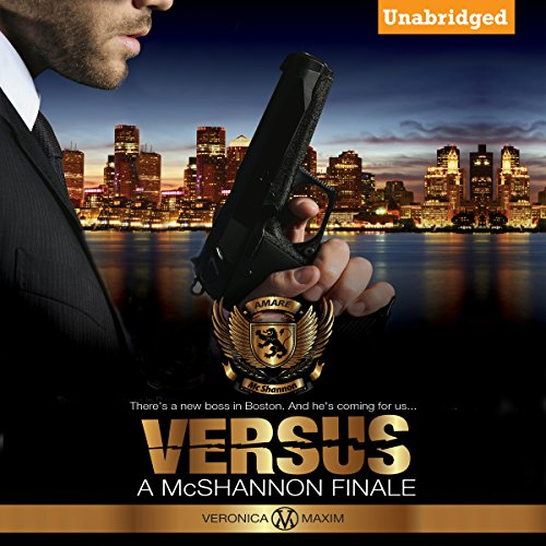 Versus audiobook cover art