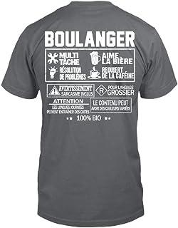 TEEZILY T-Shirt Homme Boulanger