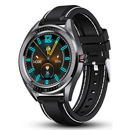 """Smart Watch, Fitness Tracker 1.4"""" Touch Screen, Fitness Step Counter, Activity Tracker with Heart Rate Monitor, IP68 Waterproof Watch for Women and Men"""