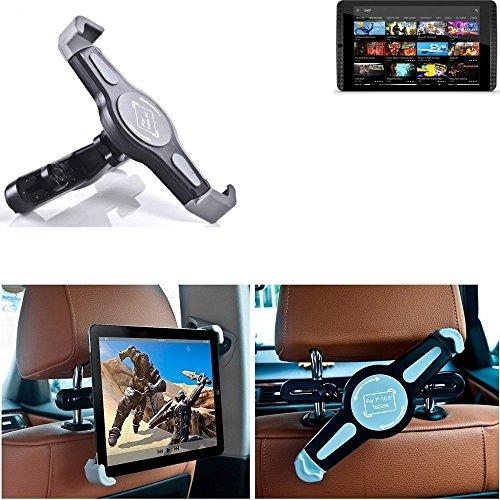 K-S-Trade para Nvidia Shield Tablet K1 Vehículo De Motor Coche Soporte De Reposacabezas Tableta 360° Asiento Trasero Carro Poseedor