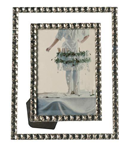 Leonardo Bella Bilderrahmen, für Fotos in der Größe 10x15 cm, mit Glassteinen verziert, 058528