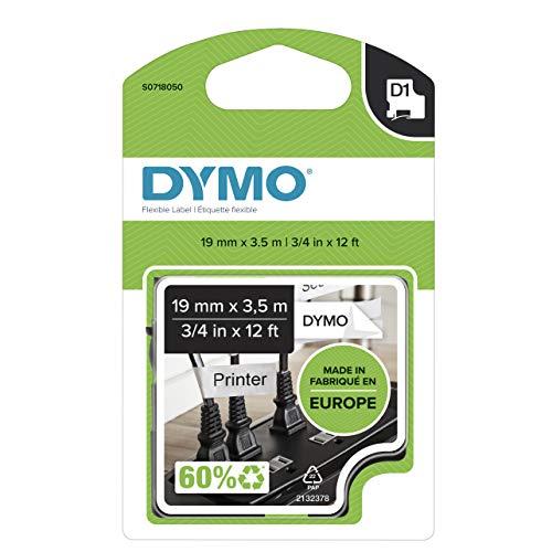 Dymo Tape D1 Flexible Nylon 19mm x 3,5m Tape flexibel Type D1 (S0718050)