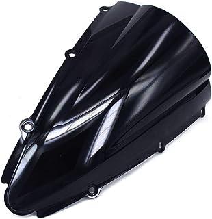Cromo pslcustomerservice Motocicletta Doppia protezione dello schermo del parabrezza Shield Vento per parabrezza per Yamaha YZF R1 2009-2014
