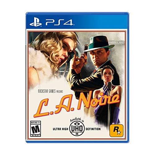 L.A. Noire (PS4) (Pré-commande - Sortie le 14 Novembre 2017) ( Catégorie : Jeu PlayStation 4 )