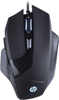 Mouse HP Gamer USB G200 Preto - Sensor Óptico Resoluções até 4000 DPI Compatível com PC/Mac - 7QV30AA
