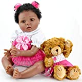 Aori Reborn Baby Dolls Lifelike Weighted Black...
