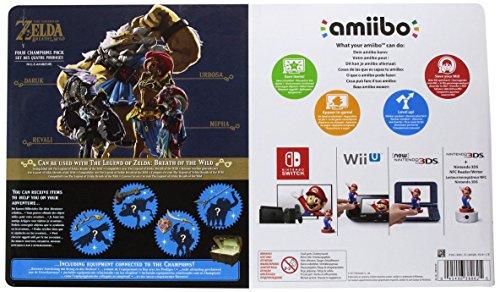 amiibo The Legend of Zelda: Breath of the Wild Recken Set - 2
