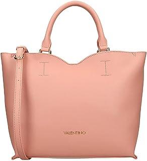 Mario Valentino Handtasche, Schultertasche für Damen, Modell Page Puder