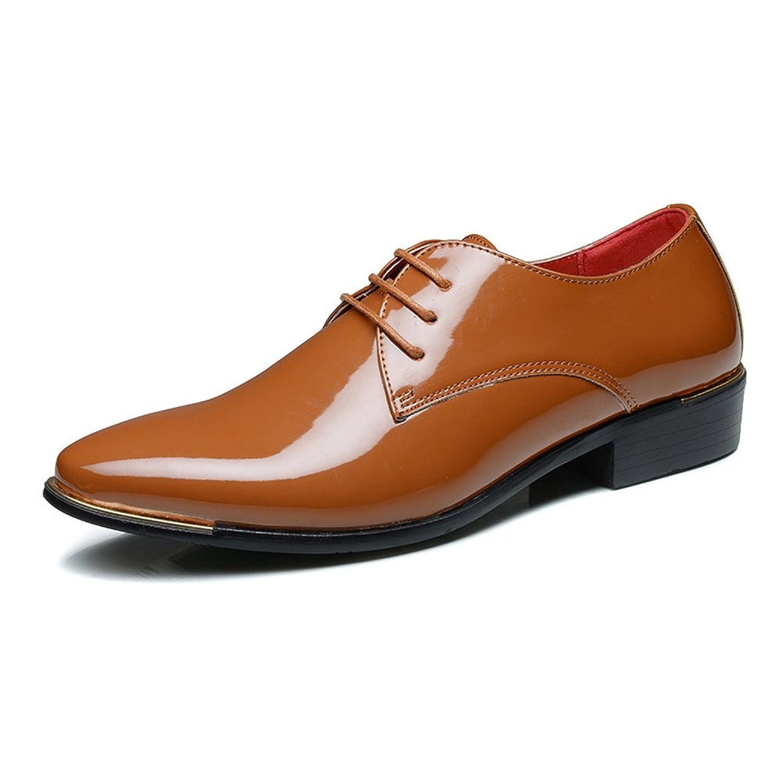 [MUMUWU] ビジネスシューズ レザー紳士靴 革靴 柔軟 メンズ 靴 ドライビング シューズ クラシック ビジネスシューズ