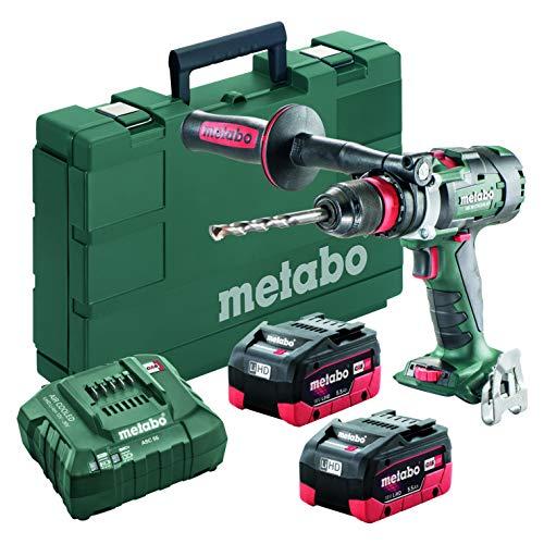Metabo- 18V Brushless 3-Speed Drill/Driver Kit 2X 5.5Ah Lihd (602355620 18 LTX-3 BL Q I 5Drills & Drill/Drivers