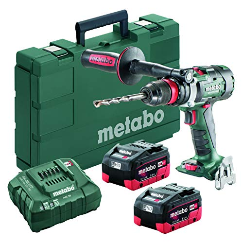 Metabo BS 18 LTX-3 BL Q I 2X 5Ah Lihd Kit 18V Brushless 3-Speed Drill/Driver