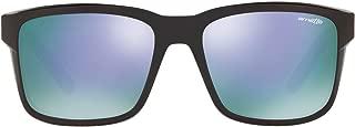 Men's AN4218 Swindle Rectangular Sunglasses