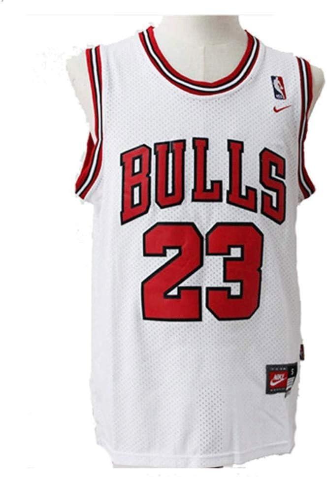 Foairs Camiseta de Baloncesto NBA Michael Jordan # 23 Chicago Bulls para Hombres, los fieles Seguidores de Los Angeles Lakers y Lebron James no Deben perderse Esta Camiseta: Amazon.es: Deportes y aire