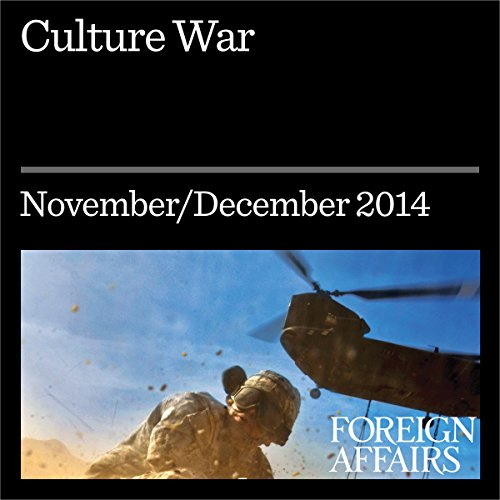 Culture War audiobook cover art