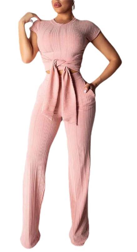 食用マーティンルーサーキングジュニア脱獄女性2ピース衣装bodyconジャンパー半袖作物トップスポケットパンツセット