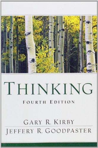 Thinking 4th Edition