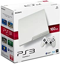 SONY PlayStation3 PS3 Console 160GB | JAPAN MODEL | CECH-3000A LW Classic White (Japan Import) by Playstation