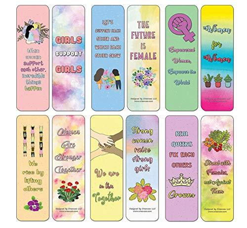 Segnalibro con citazioni motivazionali floreali per donne, confezione da 30 (30-Pack) Segnalibri con citazioni di supporto (confezione da 30)
