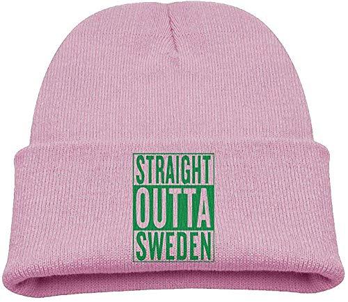 Preisvergleich Produktbild Hxincyu Kids Warm Knitted Hat Straight Outta Sweden Beanie