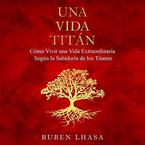 Diseño de la portada del título Una Vida Titán