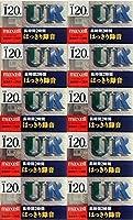 日立マクセル オーディオカセットテープ UR-120GK 120分 いい音 はっきり録音 UR-120GKX (10本セット)