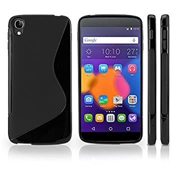 Case for Alcatel OneTouch Idol 3  5.5   Case by BoxWave  - DuoSuit Ultra Durable TPU Case w/Shock Absorbing Corners for Alcatel OneTouch Idol 3  5.5  - Jet Black