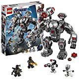 LEGO 76124 Buster Marvel Avengers War Machine Action Figure, Ant-Man Minifigure, Super Heroes Playset, Colourful