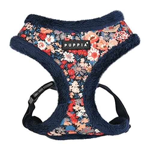 Puppia Hundegeschirr für kleine und mittelgroße Hunde - Gianni Harness A - verstellbar und komfortabel