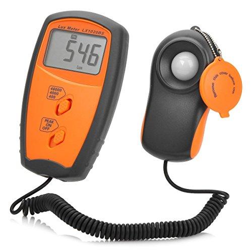 Messen Sie Lux 4000Lux Digital-Belichtungsmesser Lux-Messung elektronischen Belichtungsmesser LX1020BS