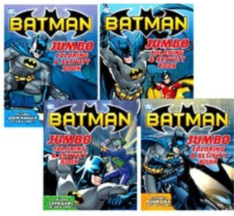 Batman Mal- und Aktivitaeten Buch