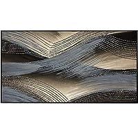 ZSKFS 抽象津波のポスターウォールアートピクチャーのためにリビングルームメーカーアイルホームMinimalista Cuadros Decoracion絵画キャンバス (色 : A, Size (Inch) : 60x110cm(No frame))