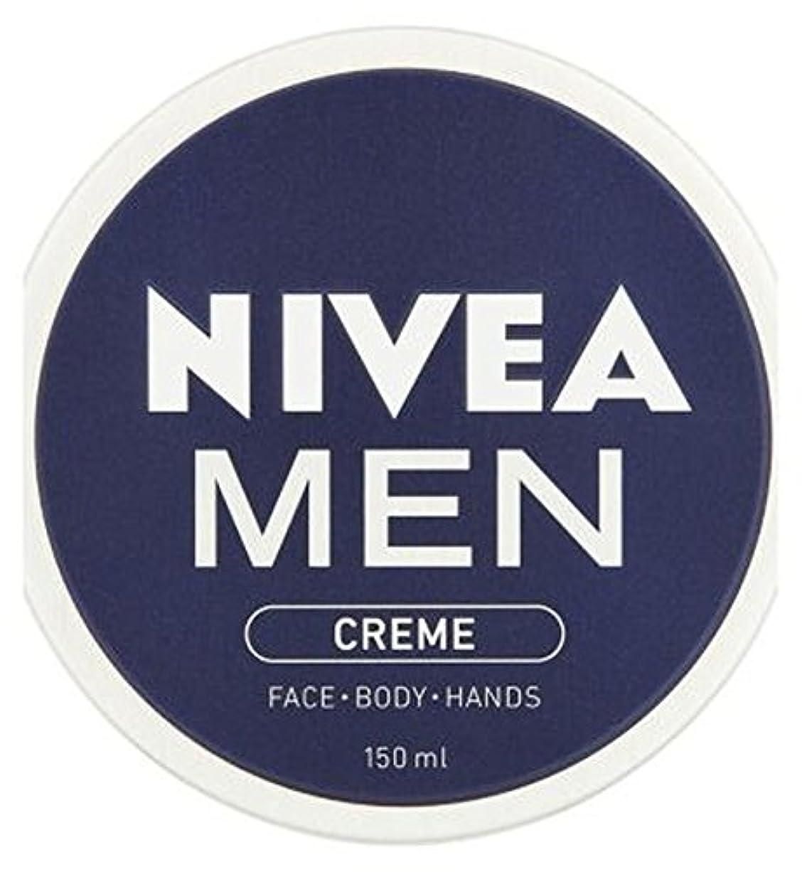 なだめる寸前スカリーニベアの男性が150ミリリットルクリーム (Nivea) (x2) - NIVEA MEN Creme 150ml (Pack of 2) [並行輸入品]