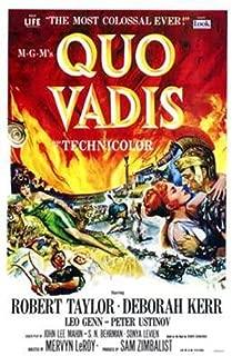 ArtFuzz Quo Vadis Movie Poster Print