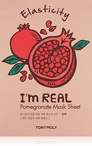 TonyMoly I'M Real Pomegranate Mask Sheet – Elasticity