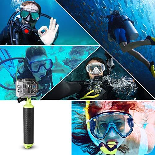 Victure Schwimmender Unterwasser Handgriff wasserdichte Handstick Monopod Pole Selfie Stick für Apeman Akaso Action Kameras