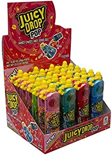 Topps Counter Display Juicy Drop Pop -- 288 per case.