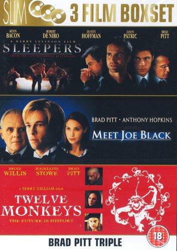 Meet Joe Black / Sleepers / Twelve Monkeys [DVD]