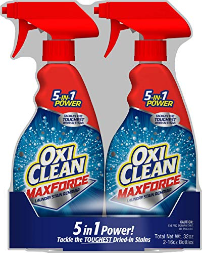 Oxiclean Maxforce Spray Twin Pack 2 Count of 16 Fl Oz Bottles 32 Fl Oz