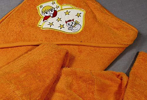 Laag Geborduurde Baby-bed S-100 D/CU oranje