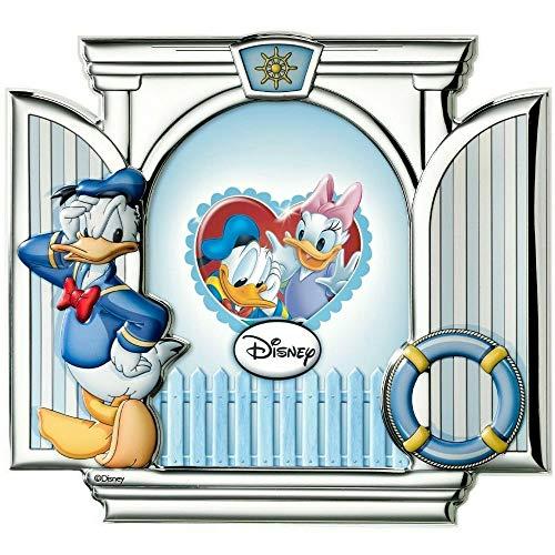 Cadre Photo Bébé avec cm 13 x 18 Donald Duck Disney Baby by Valenti