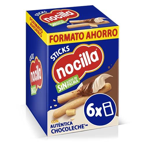 Sticks Nocilla Chocoleche Pack de 6 Raciones de 30g