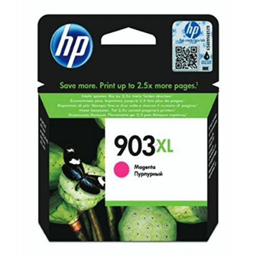 HP 903XL T6M07AE Cartuccia Originale per Stampanti a Getto di Inchiostro, Compatibile con OfficeJet 6950, OfficeJet Pro 6960 e 6970, Magenta