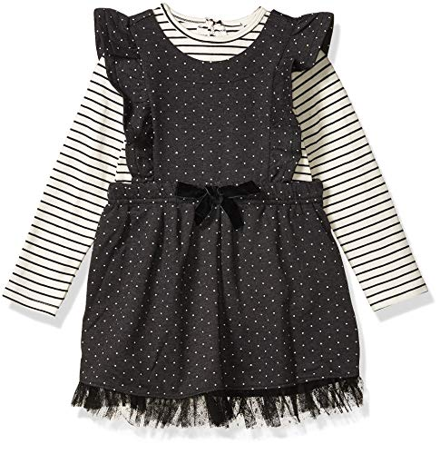 Jessica Simpson Girls' Little 2 Piece Set, Novelty Moonless Night, 2T