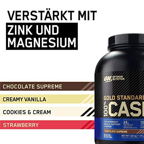 Optimum Nutrition Casein Protein Chocolate Supreme, 1er Pack (1 x 1818 g) - 5