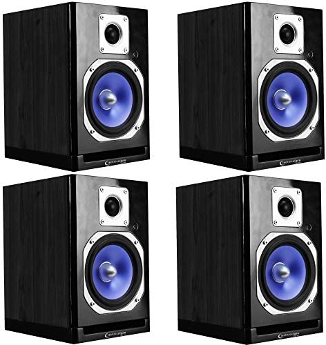 Technical Pro Multi Room Bluetooth Studio Speakers, 2000 Watts Power System, USB Inputs, Wireless Remote Control