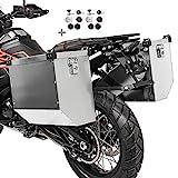 Maletas laterales aluminio para Honda Varadero 125 / XL 1000 V, X-ADV Atlas...