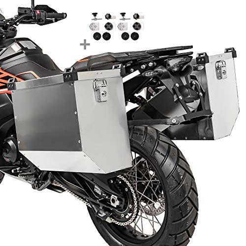 Maletas laterales aluminio para BMW F 850/800 GS/Adventure