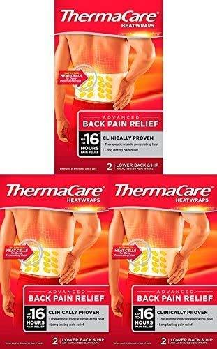 ThermaCare Wärmeumschlag, für unteren Rücken, 3er-Pack 2 stück