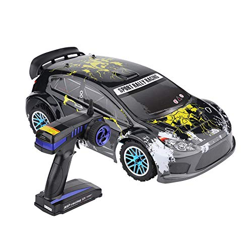 Dilwe HSP 1/10 RC Coche, Control Remoto Modelo 4WD Gas Power 18CXP Engine Rally Racing RC Cross Country Coche
